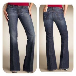 AG Adriano Goldschmied Stretch Flare Jeans Sz 30R